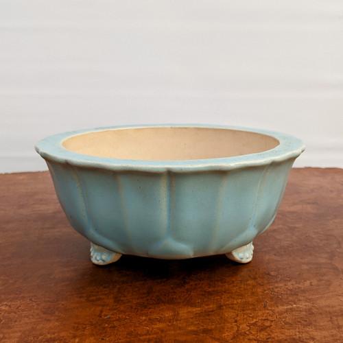"""7"""" Glazed Ceramic Pot (1520)"""