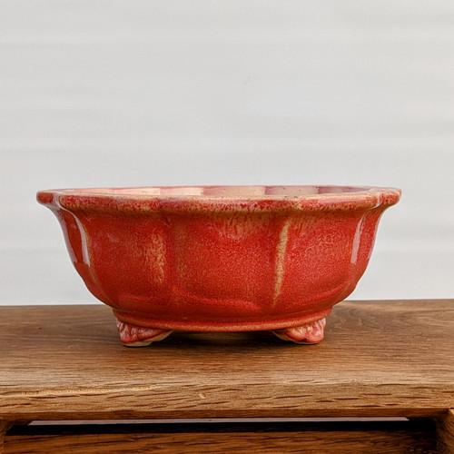 """6"""" Glazed Ceramic Pot (1083)"""