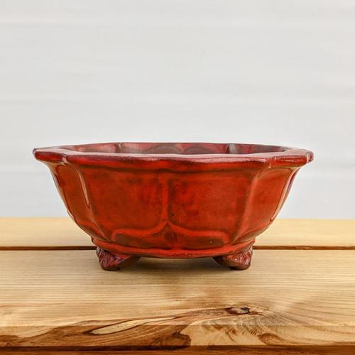 """6"""" Glazed Ceramic Pot (1082)"""