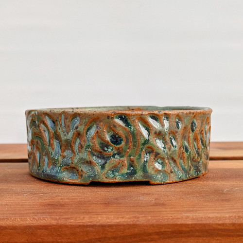 """3"""" Handmade Planter by the Pot Punching Potters (82)"""