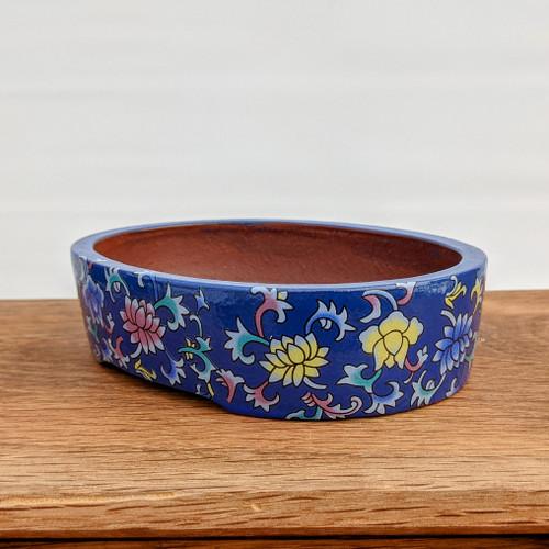 "6"" Quality Glazed Painted Yixing Pot (YX1071b)"