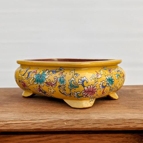 "5"" Quality Glazed Painted Yixing Pot (YX1075y)"