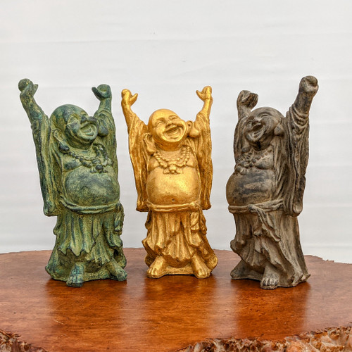 Happy Buddha Statue - Brings Wealth, Luck and Good Fortune (Large)