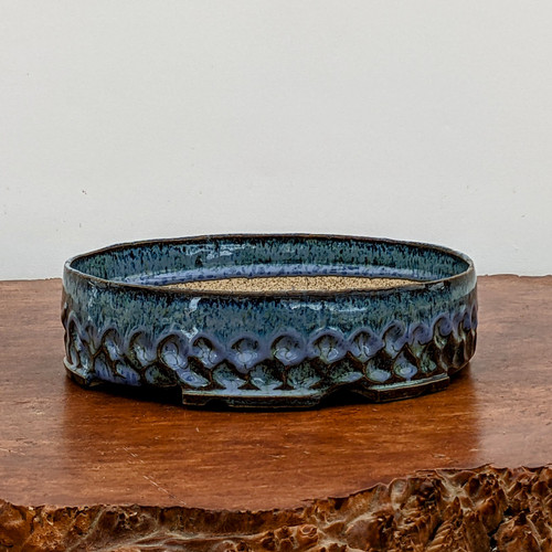 """7"""" Handmade Planter by the Pot Punching Potters (115)"""