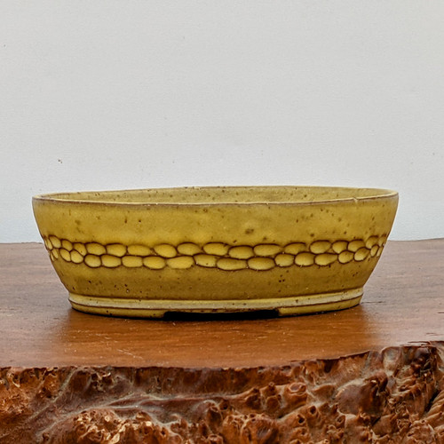 """6"""" Handmade Planter by the Pot Punching Potters (118)"""