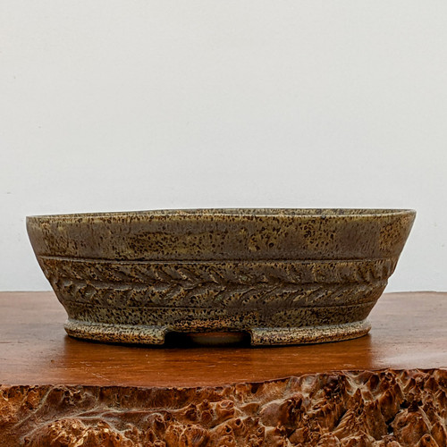 """8"""" Handmade Planter by the Pot Punching Potters (124)"""