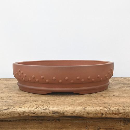 """12"""" Round Yixing Drum Pot (No. 817)"""