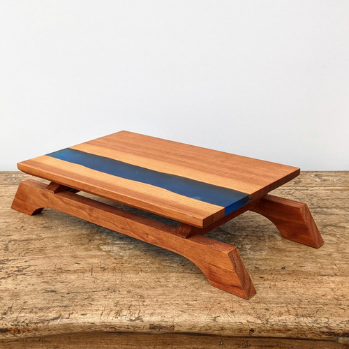 """12"""" Bonsai Display Table with River Effect (# 040b)"""