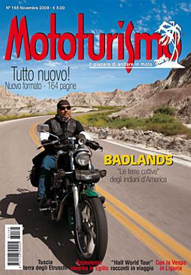 MOTOTURISMO 165 - Novembre 2008