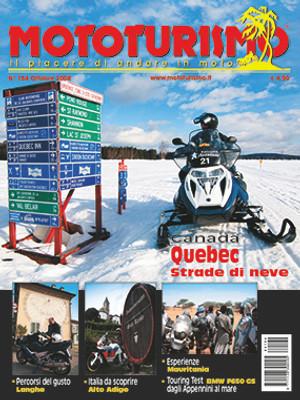 MOTOTURISMO 164 - Ottobre 2008
