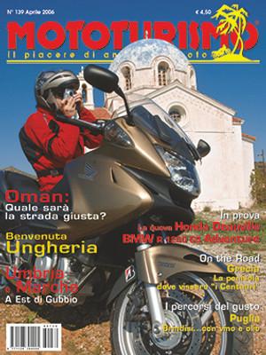 MOTOTURISMO 139 - Aprile 2006