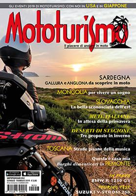 MOTOTURISMO 253 - Gennaio-Febbraio 2019