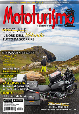 MOTOTURISMO 256 - Luglio-Agosto 2019