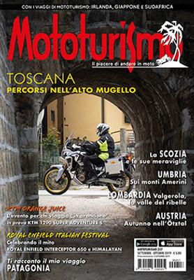 MOTOTURISMO 257 - Settembre-Ottobre 2019