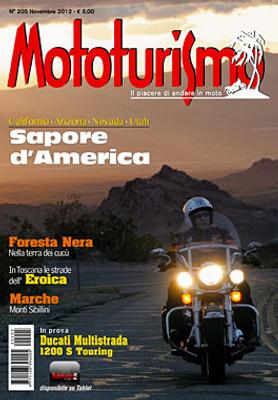 MOTOTURISMO 205 - Novembre 2012