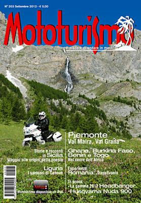 MOTOTURISMO 203 - Settembre 2012