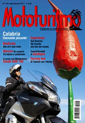 MOTOTURISMO 192 - Luglio/Agosto 2011
