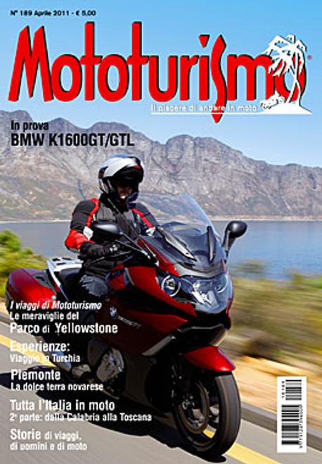 MOTOTURISMO 189 - Aprile 2011