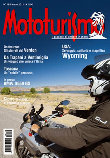 MOTOTURISMO 188 - Marzo 2011