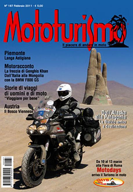MOTOTURISMO 187 - Febbraio 2011
