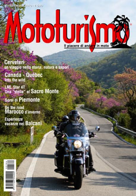 MOTOTURISMO 184 - Ottobre 2010