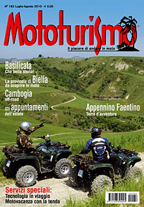 MOTOTURISMO 182 - Luglio/Agosto 2010