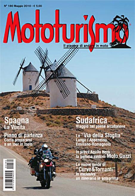 MOTOTURISMO 180 - Maggio 2010