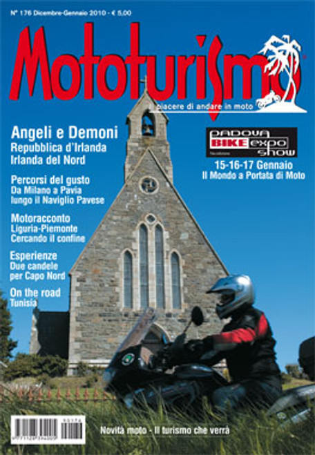 MOTOTURISMO 176 - Dicembre/Gennaio 2010