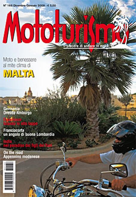 MOTOTURISMO 166 - Dicembre/Gennaio 2009