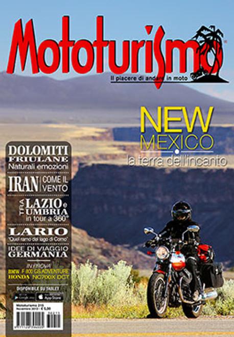MOTOTURISMO 215 - Novembre 2013