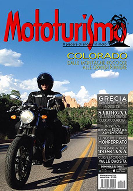 MOTOTURISMO 218 - Marzo 2014