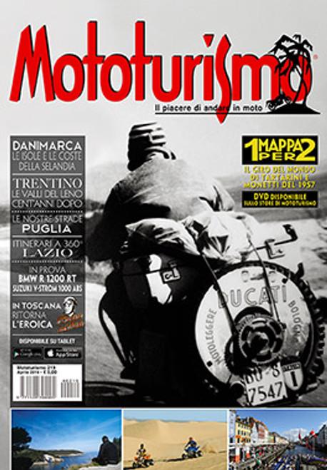 MOTOTURISMO 219 - Aprile 2014