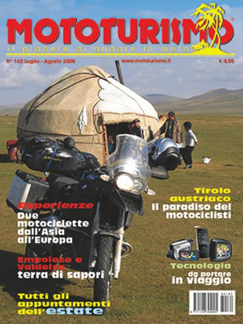 MOTOTURISMO 162 - Luglio/Agosto 2008