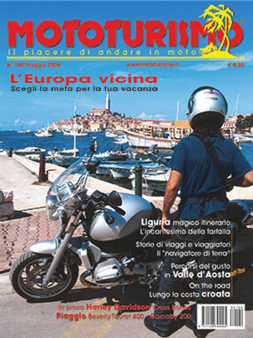 MOTOTURISMO 160 - Maggio 2008