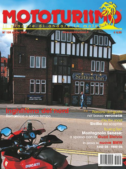 MOTOTURISMO 159 - Novembre 2008