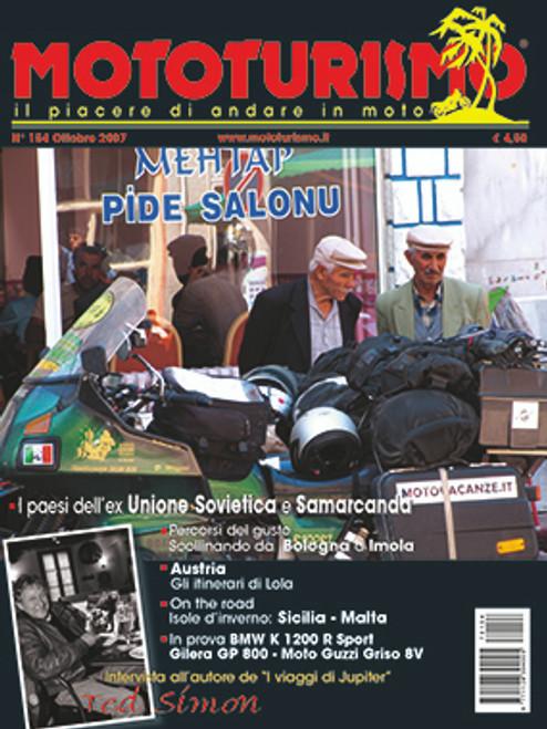 MOTOTURISMO 154 - Ottobre 2007