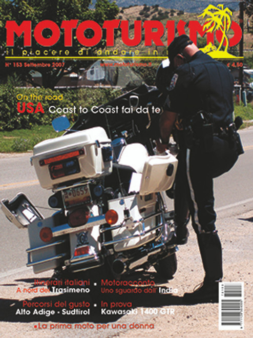 MOTOTURISMO 153 - Settembre 2007