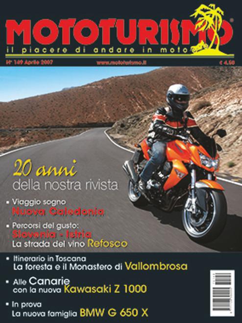 MOTOTURISMO 149 - Aprile 2007