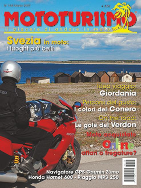MOTOTURISMO 148 - Marzo 2007