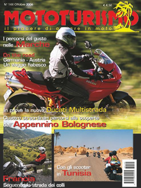 MOTOTURISMO 144 - Ottobre 2006