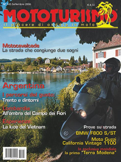 MOTOTURISMO 143 - Settembre 2006