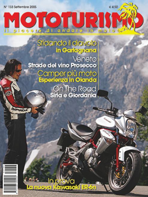 MOTOTURISMO 133 - Settembre 2005