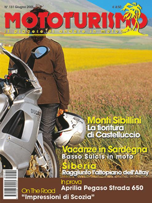 MOTOTURISMO 131 - Giugno 2005