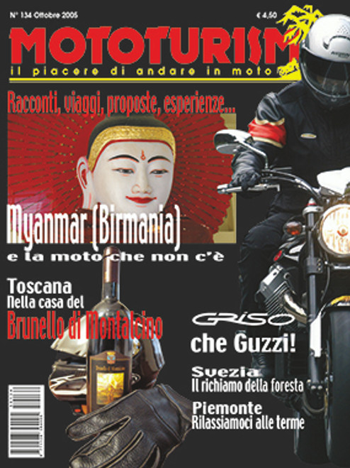 MOTOTURISMO 134 - Ottobre 2005