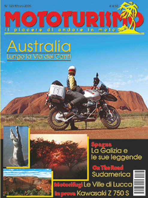 MOTOTURISMO 128 - Marzo 2005
