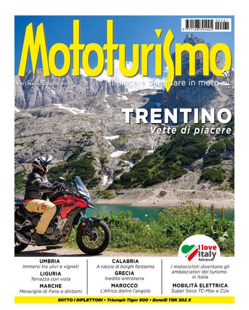 MOTOTURISMO 261 - Maggio-Giugno 2020