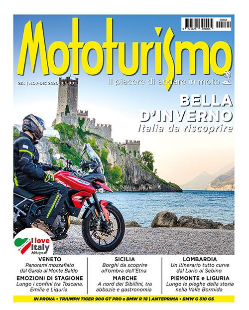 MOTOTURISMO 264 - Novembre-Dicembre 2020