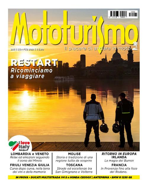 MOTOTURISMO 265 - Gennaio-Febbraio 2021