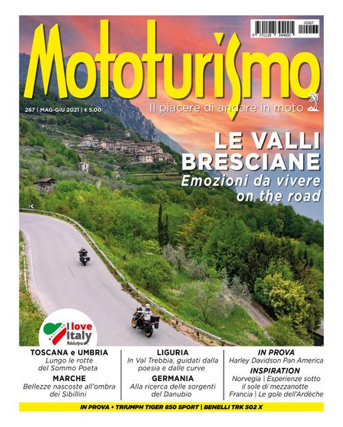 MOTOTURISMO 267 - Maggio-Giugno 2021