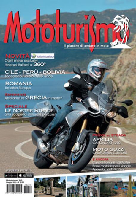 MOTOTURISMO 210 - Maggio 2013